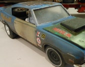 Scale Model Car,Classicwrecks,plymouth Barracuda,Rusted Wreck,Rat Rod,ScaleModel,MuscleCar,BarnFind,JohnFindra,124Scale,JunkYard,OldSchool,