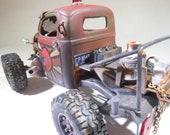ModelCar, RatRod, Jeep, JunkerModel, OOAK, JunkYard, Apolcalypse, WarHammer, Classicwrecks