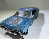 124scalemodel, Chevy impala, junkyardmodel, barnfindmodel , ratrod, Classicwrecks, metalpatins, Musclecar.