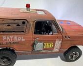 Model car,124scale,vampire,nightoflivingdead,junkard,ooak,
