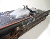 ScaleModelCar,Batman and Robin,124Scale,Classicwrecks,OOAK,Batmobile