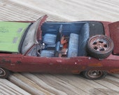 Scale Model Car,Classicwrecks,Chevrolet Chevelle,Rat Rod,Junker Model