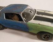 ModelCar,124Scale,RustedWreck, Scale Model ,Camaro Car, ChevyCamaro, Classicwrecks,RatRod,RustedModelCar,ModelHobby,Steampunk,JunkedAuto