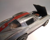 Classicwrecks, Rusted Wreck ,Scale Model, Silver Corvette Car,Junk Yard,PaintPatina, MuscleCar, 124Scale, BarnFind