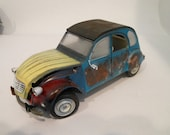 Scale Model Car,Classicwrecks,Rusted Wreck,Derelict Car,French Car,Citroen