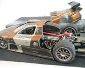 Mercedes Car,Scale Model,Rat Rod,Vampire,WarHammer,RaceCar,RustedWreck,Classicwrecks