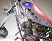 ScaleModel,Chopper,RatRod,MotorcycleModel,1/8Scale,OOAK,PulpFiction,HarleyDavidson