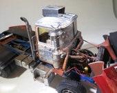 ModelCar,ScaleModelTruck,BigRig,TruckStop,RatRod,MackTruck,JunkYard,Hauler,124Scale,DieselEngine,PlasticModel,TruckModel