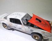 ScaleModelCar,124Scale,RatRod,Transam,Smokey,JunkYard,RustedWreck,PontiacFirebird