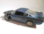 Scale Model,Rat Rod,Model Car,Junker Model,Muscle Car,Barn Find, 1:24 scale