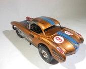 Corvette,ModelCar,chevyCorvette,124Scale,ScaleModel,Rat rod,JunkYard,BarnFind,PlasticToyCar