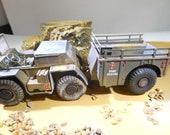 ModelCar, USMC, 1/35Scale, GamaGoat, plasticModel, DesertRat