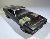 Fast and furious, fate of the furious, Plymouth gtx, movie car, junkyard model, barnfind model, Classicwrecks, ratrod, ooak.