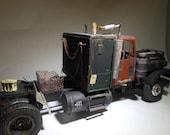 ModelCar,War Hammer,Kenworth Truck,ScaleModel Truck,Tractor Trailer,Steampunk,RatRod,RustedWreck,ModelHobby,RoadWarrior,FuryRoad,Wrecked