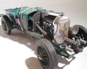 ScaleModelCar,Bentley,1 24 Scale,The Avengers ,BritishRacingGreen,JunkerModel,EmmaPeal, 1/24 scale