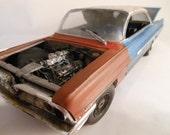 Scale Model, Pontiac Car, Classicwrecks ,Rusted Wreck,Model Hobby,WideTrack