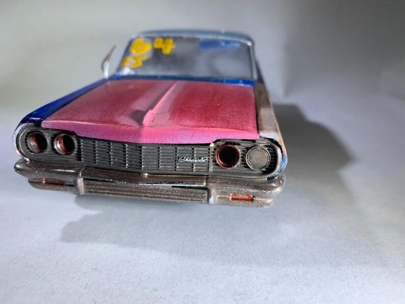 Scale model impala classicwrecks wreckedcar ratrod image 0