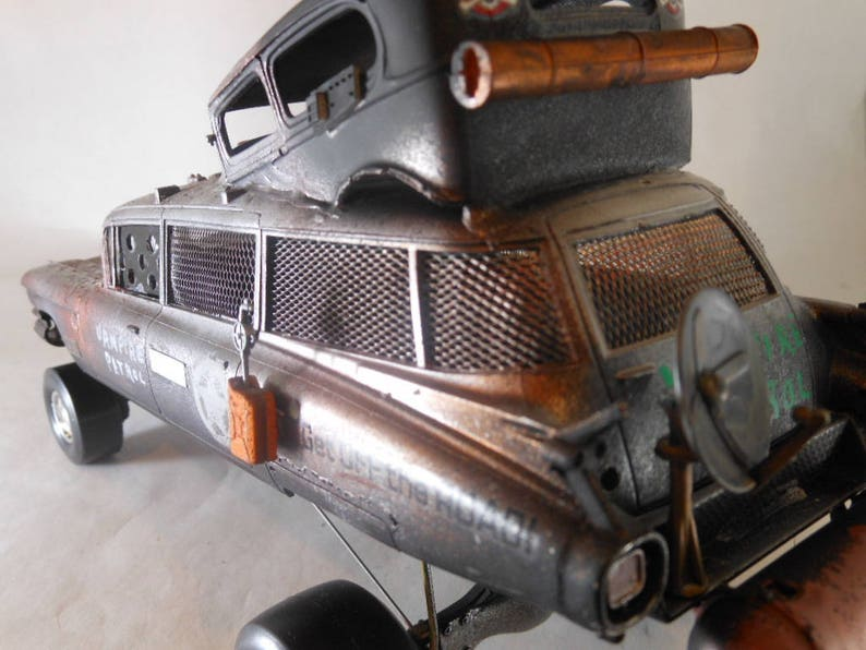 Scale Model CarVampire HuntingSteampunkCadillac image 0