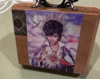 Prince Inspired Cigar Box Purse!