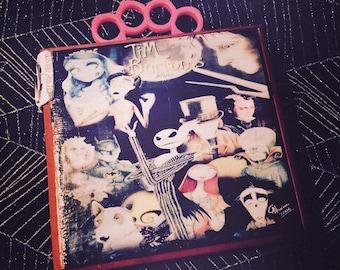 Tim Burton characters themed cigar box purse