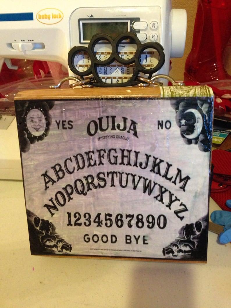 Ouija Board Cigar Box Purse image 0