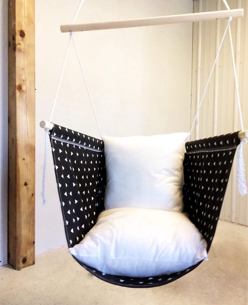 Peachy Hammock Hanging Chair Cocoon Adult And Big Kids Swing Chair Choose Your Fabric Indoor Outdoor Swing Creativecarmelina Interior Chair Design Creativecarmelinacom
