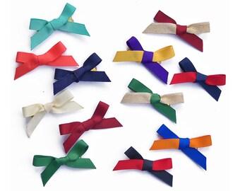 Assorted Grosgrain Bows for Pearl Ribbon Bracelet