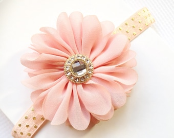 Soft peach headband a6f2a5d1908