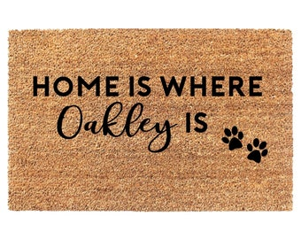 Beautiful Pet Lover Christmas Gift, Dog Lover Wedding Gift, Christmas Door Mat, Dog  Lover Gift, Dog Lover Doormat, Christmas Gifts, Paw Print Doormat