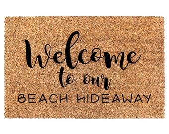 Beach House Doormat, Beach House Gift, New Home Gift, Welcome Mat Gift,  Gifts Beach House, Welcome Mat, Fun Doormats, Housewarming Gift