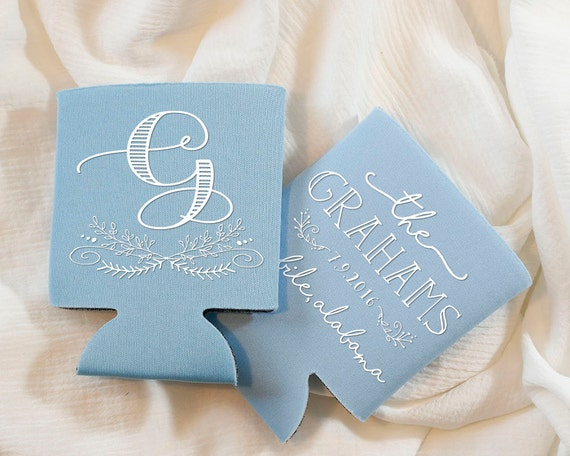 Wedding Favors Personalized Favors Monogrammed Wedding Etsy