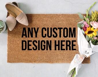 Personalized Welcome Mat, Custom Door Mat, Housewarming Gifts, Welcome Mat, Funny Doormat, Personalized Rug, Custom Gifts, Custom Rugs