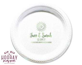 More colors. Wedding Plate ...  sc 1 st  Etsy & Personalized dessert plates | Etsy