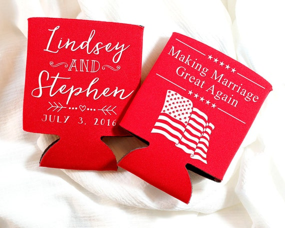 Anniversary Party Gifts American Flag Wedding Gifts July Etsy