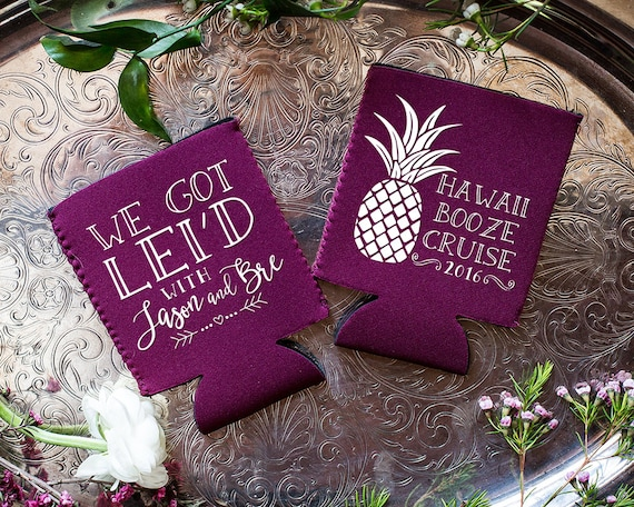 Hawaiian Wedding Gift Ideas: Hawaii Weddings Neoprene Pineapple Wedding Gift Hawaiian