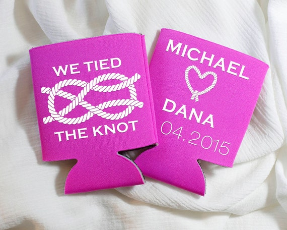 The Knot Wedding Gifts: We Tied The Knot Nautical Wedding Favors Custom Wedding