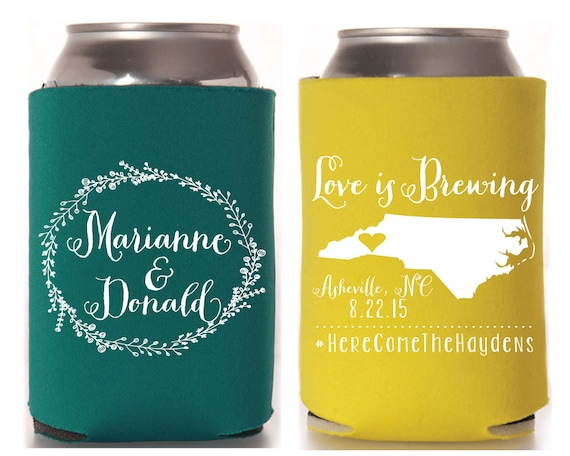 Love Is Brewing Wedding Favors Southern Wedding Gifts Love Etsy