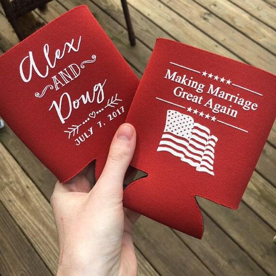 Funny Political Wedding Gifts Republican Wedding Making Etsy