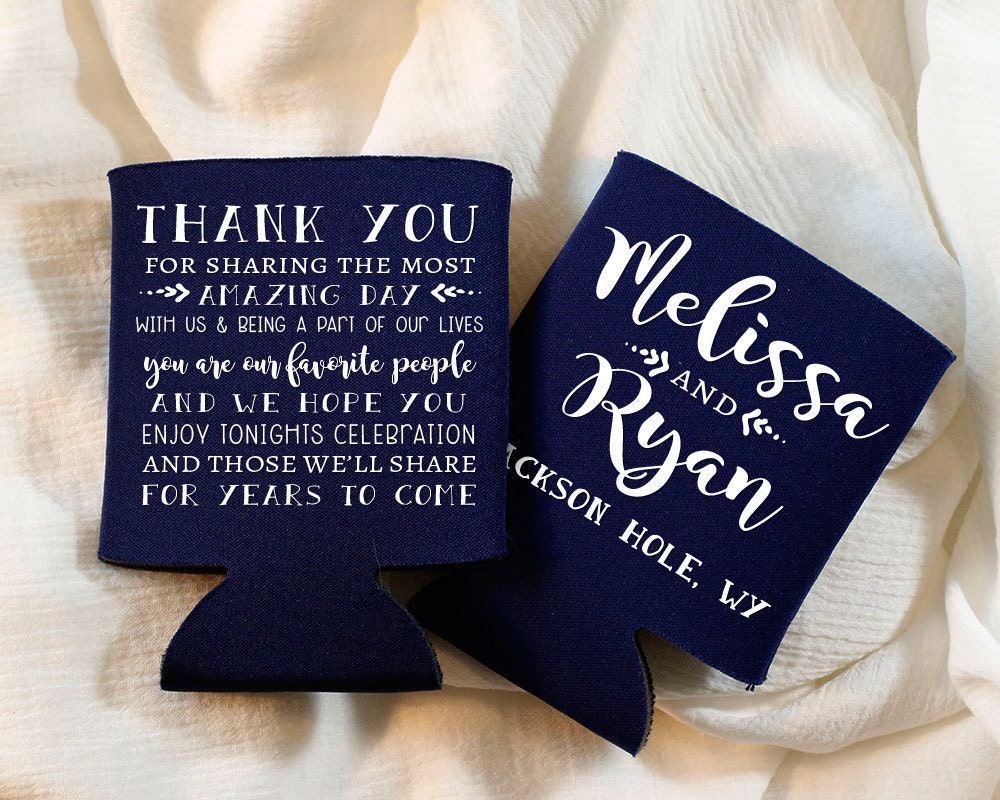 Personalised Wedding Gifts For Guests: Thank You Gifts Thank You Wedding Guest Gifts Personalized
