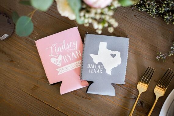 Texas Weddings Neoprene State Wedding Gifts Texas Wedding Etsy