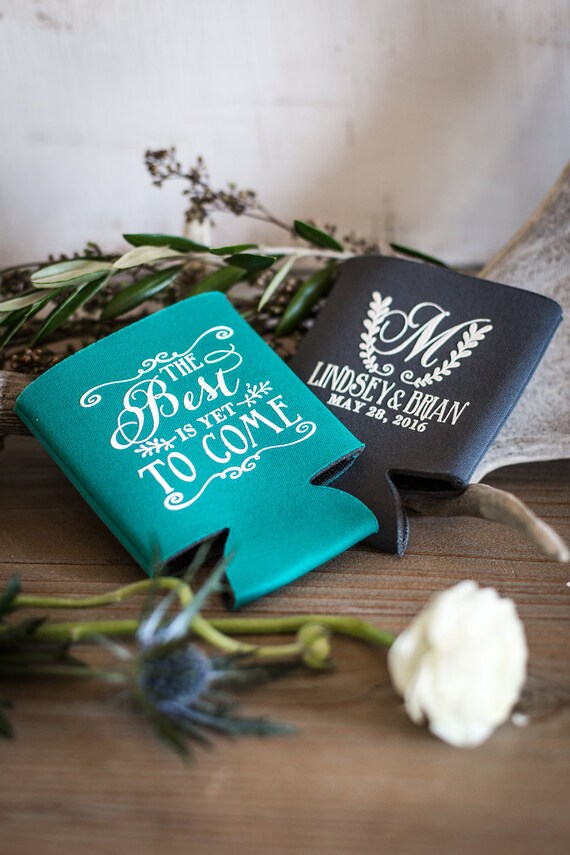 The Best Is Yet To Come Wedding Favors Personalized Favors Etsy