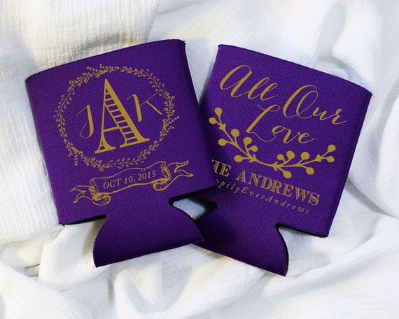 All Our Love Wedding Favors Anniversary Party Favors Southern