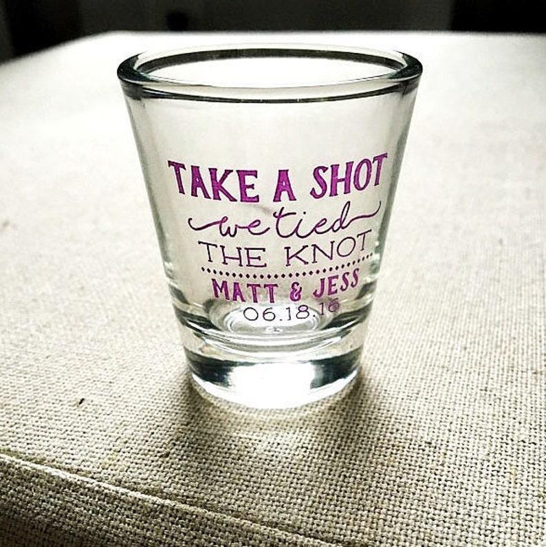 Shot Glass Engagement Shot Glasses Wedding Shot Glass Personalized Shot Glasses Personalized Shot Glass 1879 Monogram Shot Glass