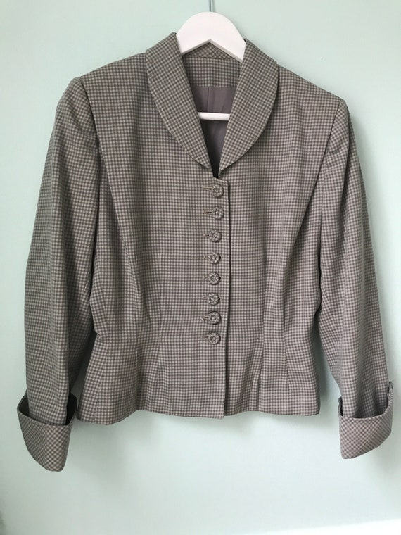Gabardine Wool Womens Suit