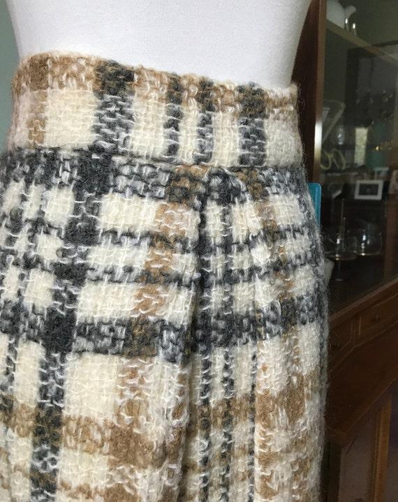 Irish Wool Plaid maxi skirt - image 2