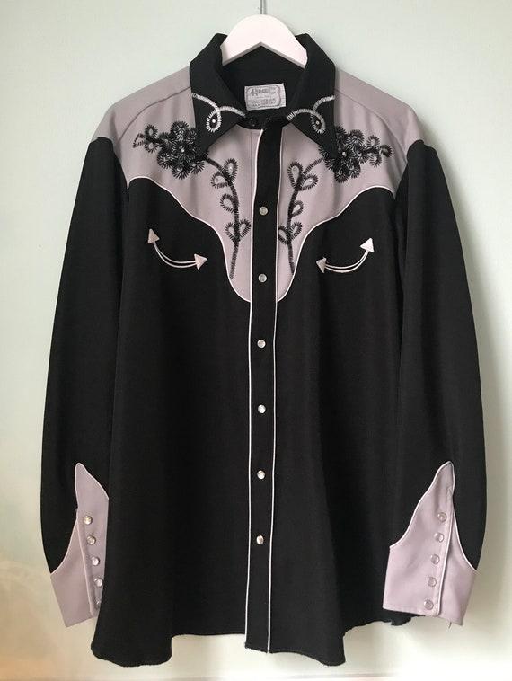H Bar C Western Long Sleeve Men's shirt