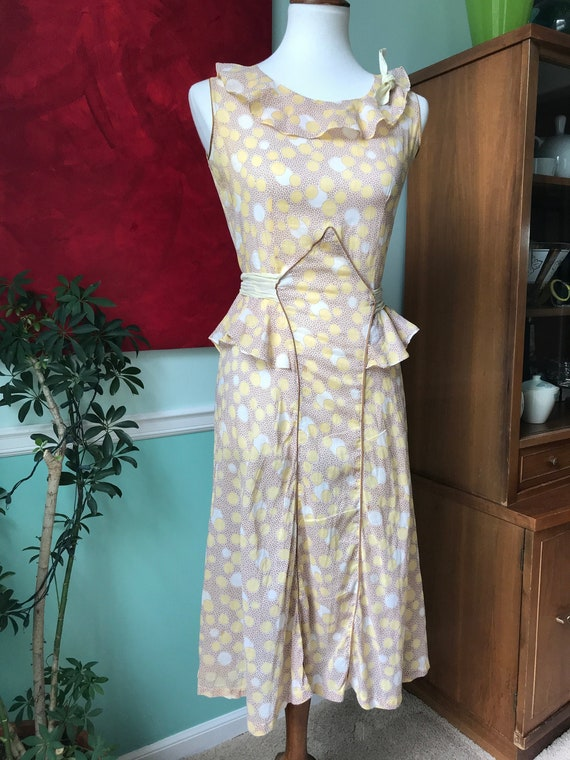 Deco style 19220's/1930's day dress