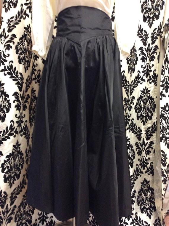 Simply Stunning 50's Taffeta Skirt