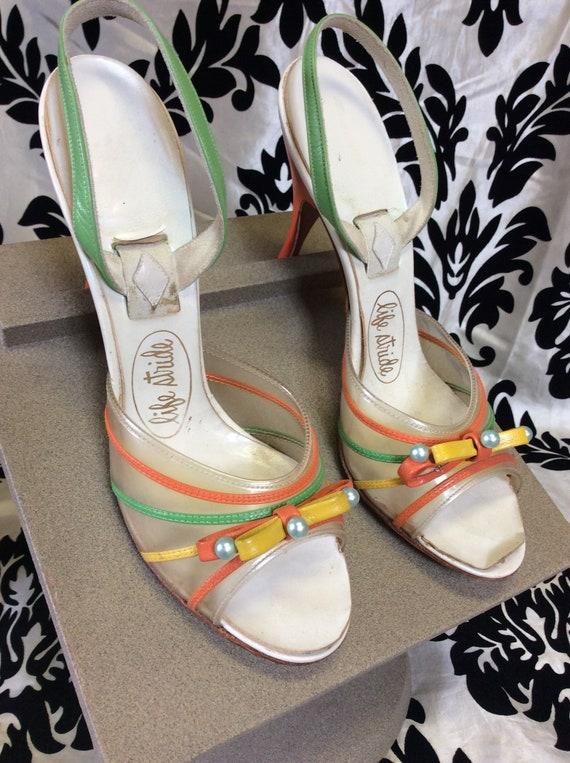 Fun & Funky 60's Heels