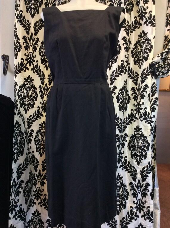Adorable 1950's Little Black Dress